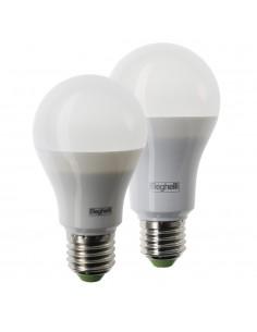 Lampada LED E27 13W Luce fredda Beghelli Elplast 56816, 6500°K, 1300 Lumen, Resa 80W, Goccia, Apertura luce 270°, A+