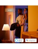 Philips Hue Flourish White and Color Ambiance Lampada da parete bianca LED RGB 31W, 16 milioni di colori