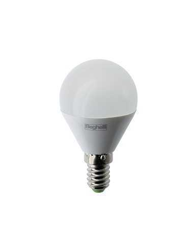 Lampada LED E14 7W Luce fredda Beghelli 56872, 6500°K, 700 Lumen, Resa 70W, Sfera, Apertura luce 160°, A+: Coppolav.it