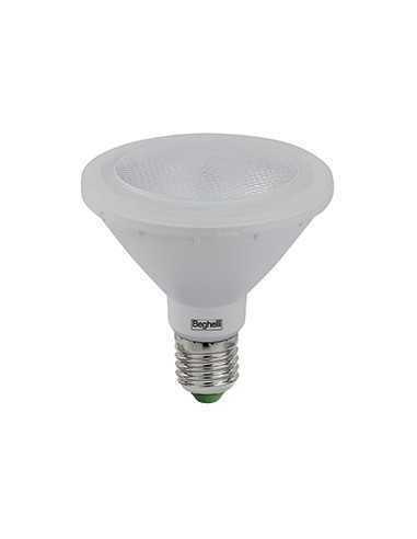 Lampada LED PAR30 E27 Beghelli 56055, 10W, Luce calda, 750 lumen