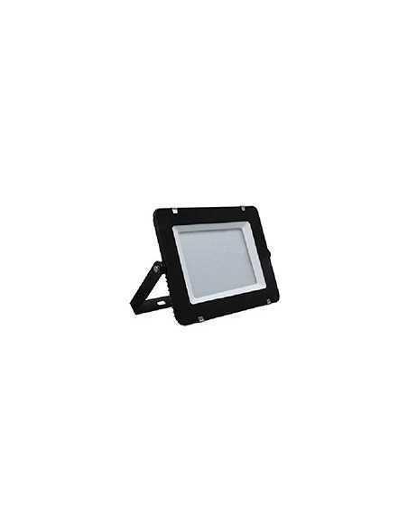 Faro LED 100W Nero per esterni IP65 Elplast Beghelli 86141 LITE SEF LED, Luce Naturale 4000K, 9000 Lumen, Alluminio Pressofuso