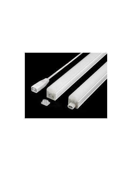 Plafoniera LED Sottopensile 8W 573 mm Luce naturale Beghelli Elplast 74043, 640 Lumen, Bianca, Staffe incluse, Luce indiretta