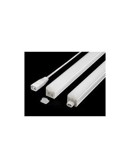 Plafoniera LED Sottopensile 10W 873 mm Luce calda Beghelli Elplast 74044, 750 Lumen, Bianca, Staffe incluse, Luce indiretta, A++