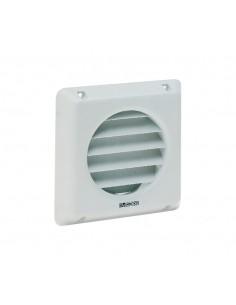 Griglia fissa per sistemi di ventilazione diametro 100 mm Vortice 22010 GFI 10, Plastica bianca, MADE IN ITALY: Coppolav.it