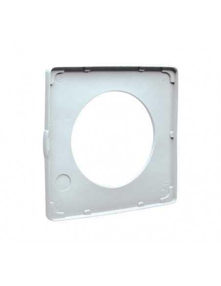 Kit adattatore soffitto Vortice 22154 S100/4 per aspiratori Vortice M100/4 Diametro 100 mm, Garantisce IPX4, MADE IN ITALY