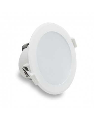 Faro LED Incasso 10W Lampo Tricolor SYDNEY10WMC, 900 Lumen, Luce calda, naturale e fredda, Dimmerabile, Apertura luce 100°, 220V