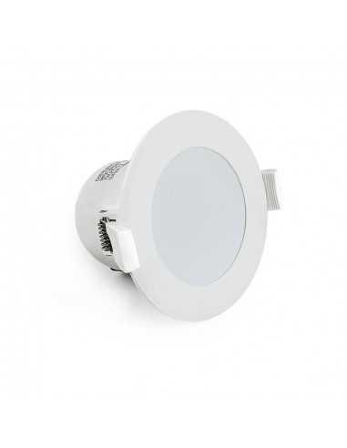 Faro LED Incasso 7W Lampo Tricolor SYDNEY7WMC, 600 Lumen, Luce calda, naturale e fredda, Dimmerabile, Apertura luce 100°, 220V
