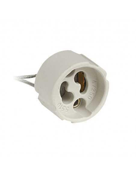 Lampo A311 Portalampada GU10 per lampadine a LED o alogene