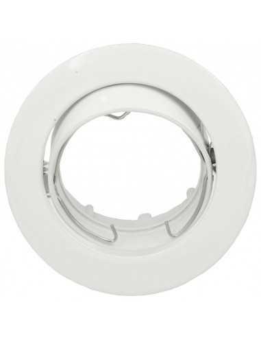 Faretto ad incasso Lampo DIK OR ORIENTABILE TONDO|Colori: Bianco|GU10|220V|Coppolav.it: Faretti ad incasso