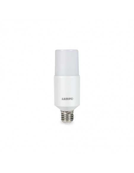 Lampadina LED formato tubolare Lampo CO11WBC|E27 (Grande)|3000°K (Calda)|Resa: 60W|910 lumen|Coppolav.it: Lampadine a LED