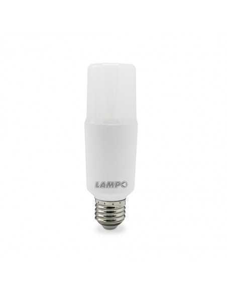 Lampada LED E27 15W tubolare luce fredda Lampo CO15WBF, 1400 lumen, 6400°K, attacco grande|Coppolav.it: Lampadine a LED