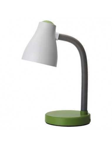 Lampada da tavolo Bianca/Verde Perenz 6036VE|E27 (Grande)|Coppolav.it: Lumetti