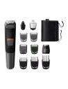 Rasoio Ricaricabile 11in1 per capelli, barba, corpo e naso Philips Multigroom MG5730/15, 80 minuti di autonomia, Impermeabile