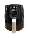 Friggitrice ad aria 3,8 Litri con 8 programmi di cucina e timer 60 minuti Zephir ZHC40N, 1450W, 80-200°C, Display LED Touch