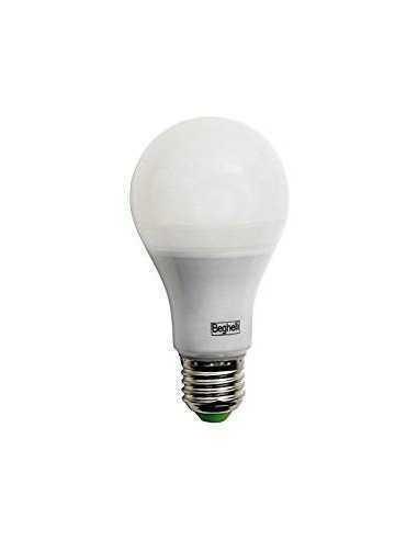 Lampada LED E27 22W Luce naturale Beghelli 56157, 4000°K, 2500 Lumen, Resa 150W, Goccia, Apertura luce 270°, A+: Coppolav.it