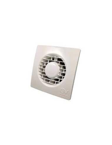 Vortice 11127 Aspiratore elicoidali da muro, tubo diametro 10cm, potenza 15W, Dotato di timer
