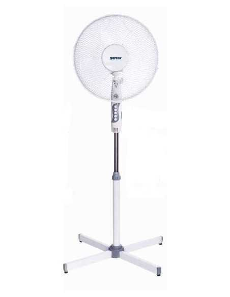 Zephir PBA41P Ventilatore a piantana, 3 velocità, 45W, oscillante